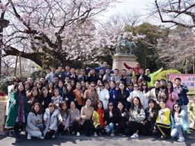 锐仕方达猎头2017春季环球之旅,CEO带着70多高管去日本看樱花