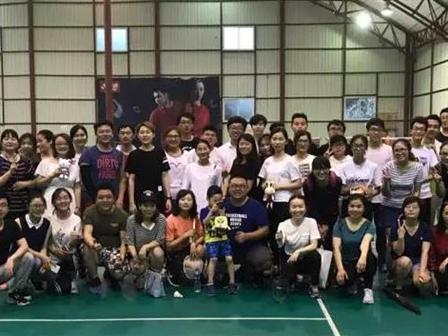羽毛球赛场上的猎头风采!锐仕方达华东区首届羽毛球大赛开幕