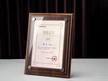 """魚躍醫療授予銳仕方達常州分公司""""優秀合作伙伴獎"""""""