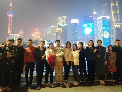 沪上漫步 领略深秋的风情 锐仕方达上海张江公司举办徒步活动