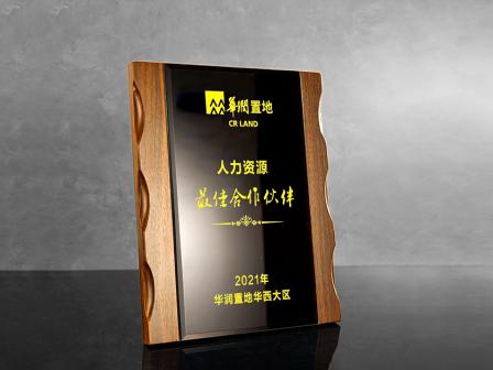 """華潤置地授予銳仕方達成都分公司""""人力資源最佳合作伙伴""""獎項"""