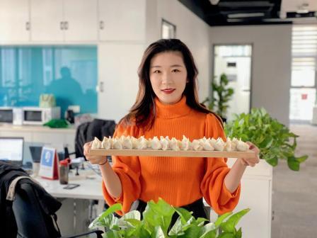 """锐仕方达济南分公司举办第一届""""情暖冬至""""饺子节活动"""